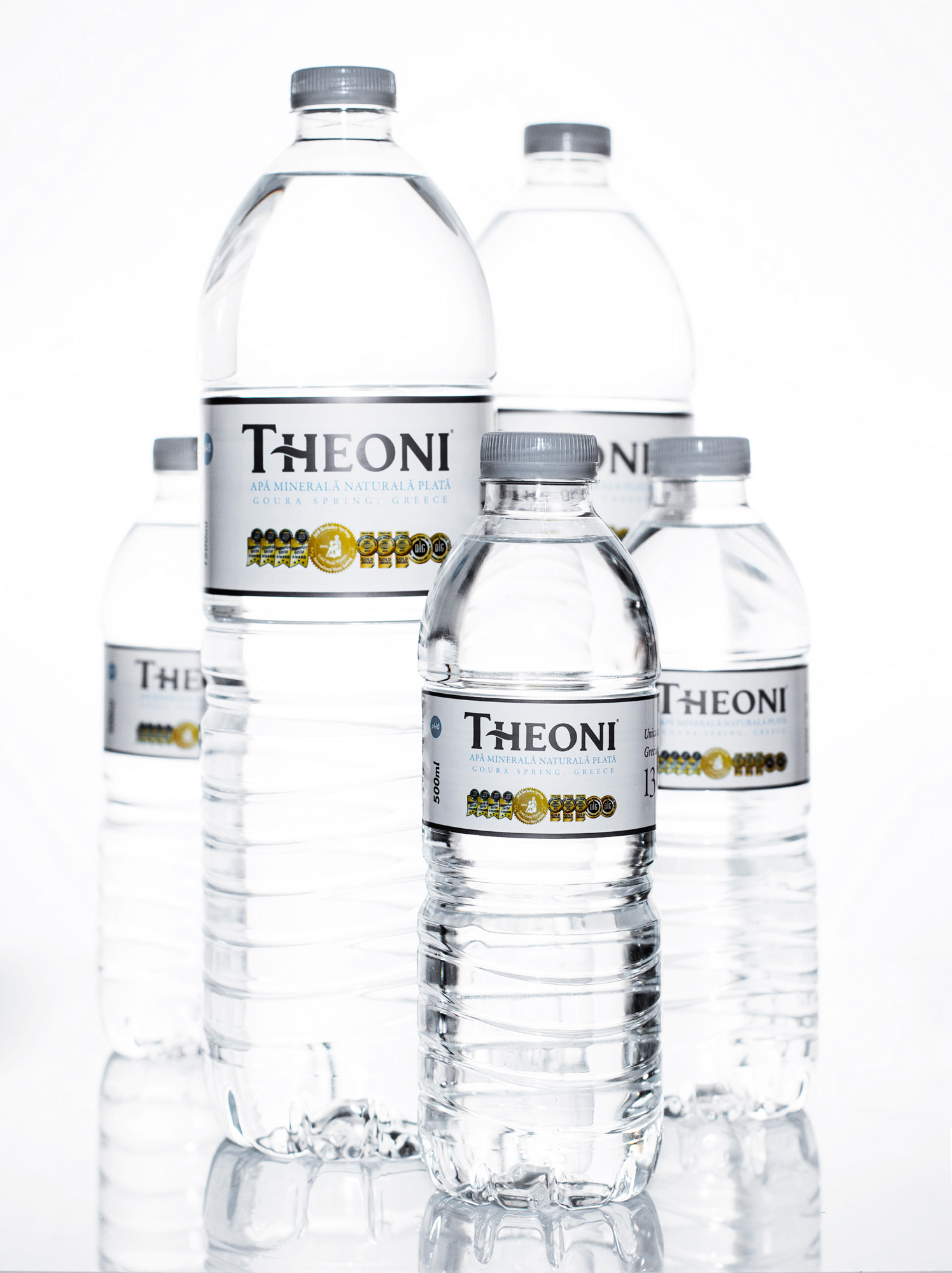 Theoni water - The outstanding spring water with multiple international gold awards
