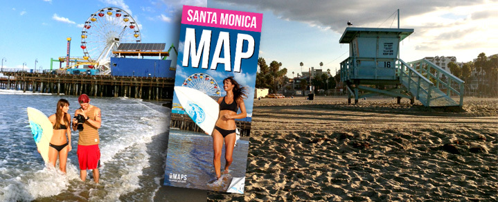 On location in Santa Monica for Million Maps cover shoot. Final cover sneak preview!