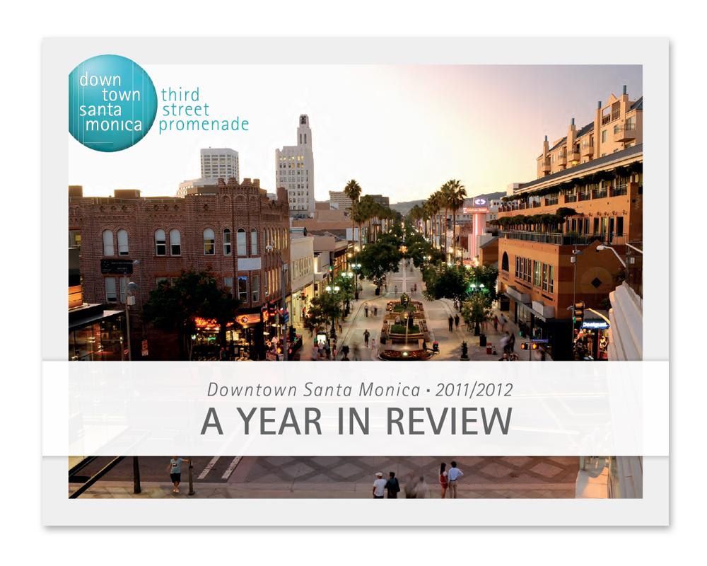 Downtown Santa Monica, Inc. Annual Report '12