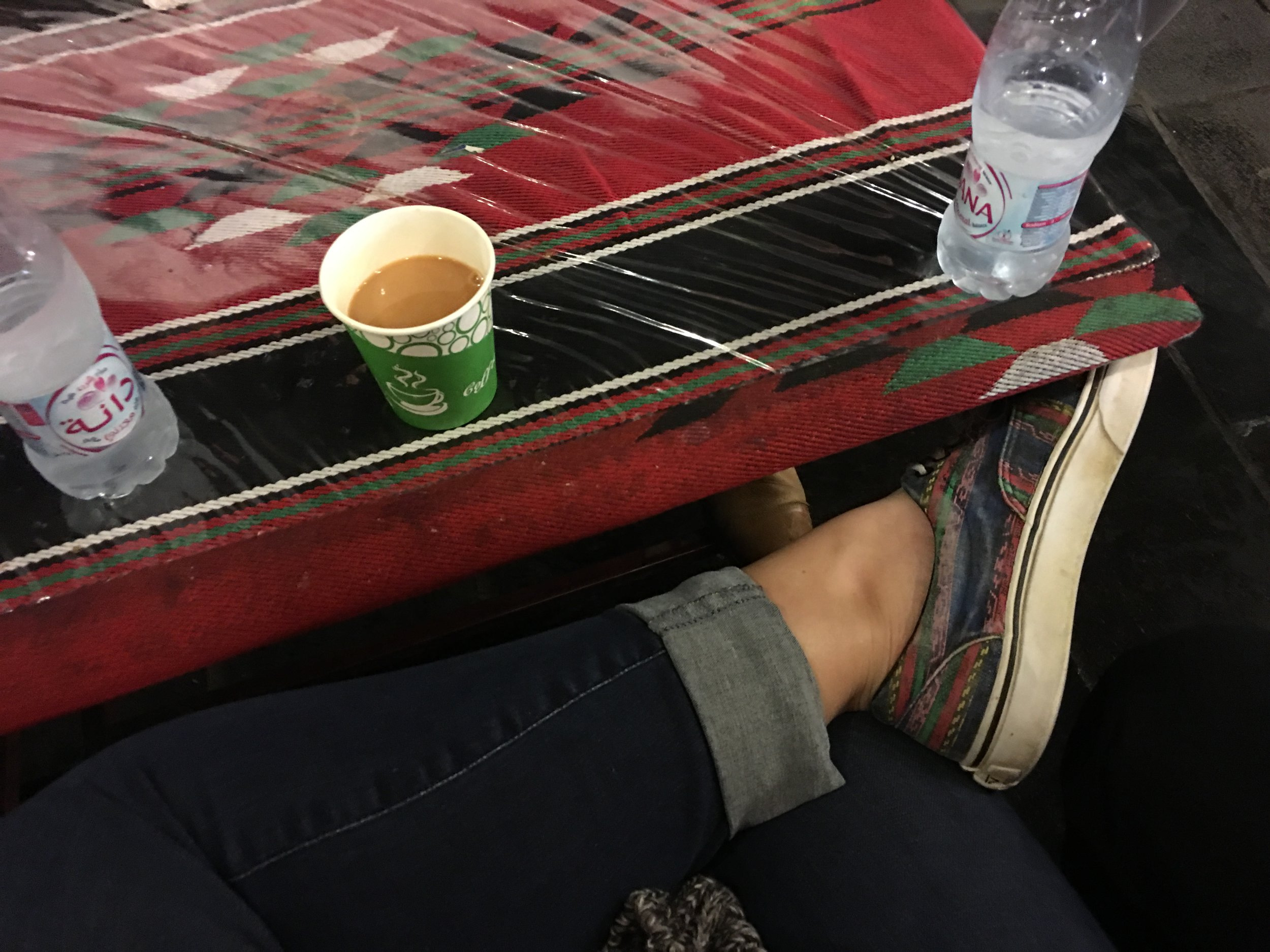 Once again, karak.