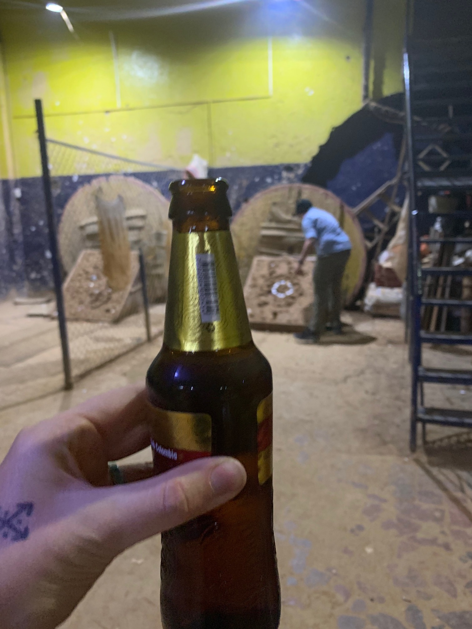 A must do is order a massive amount of beers and play tejo with all your friends for hours. It was nearly midnight so notice the several lack of people.