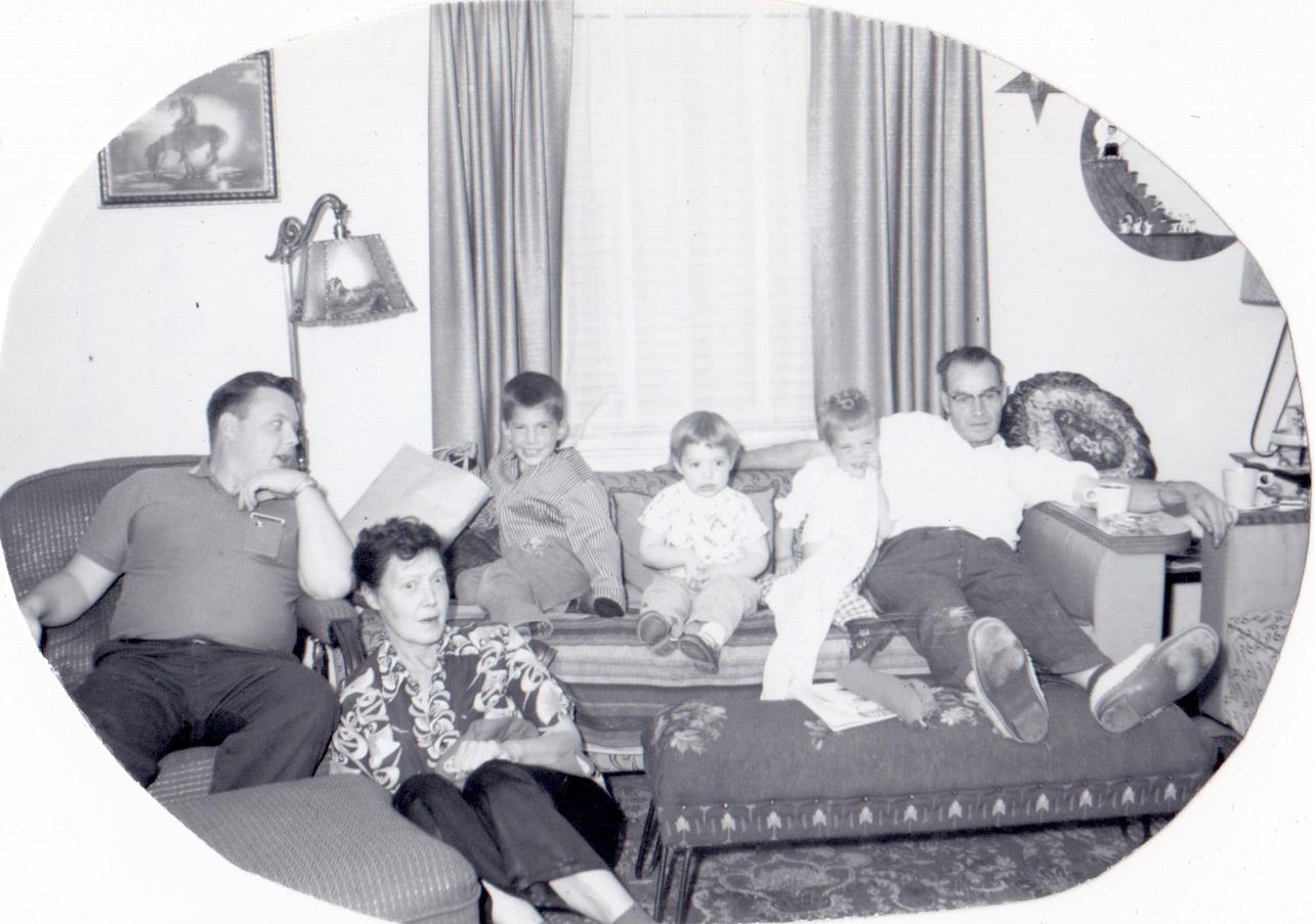 Family circa 1960