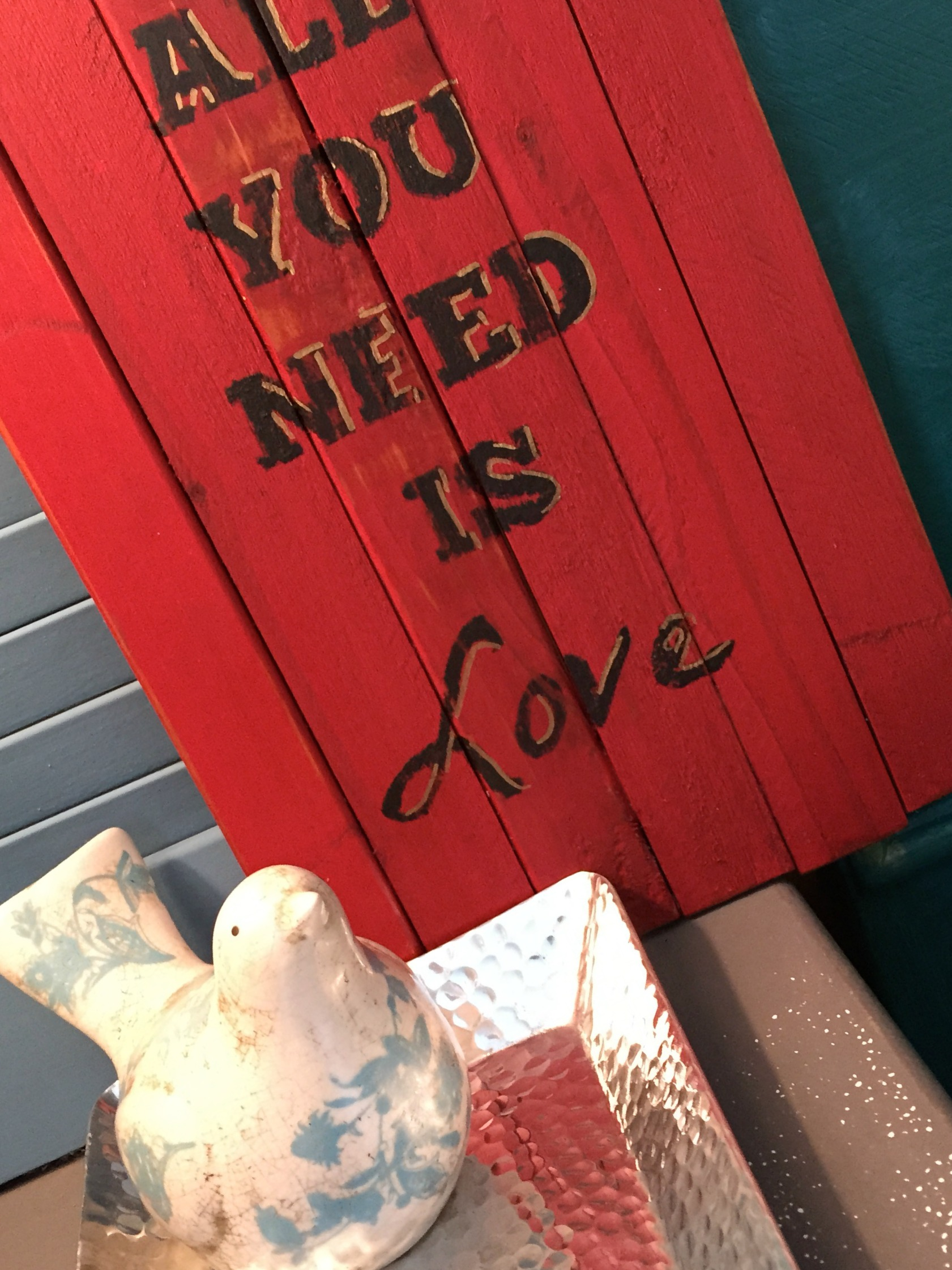 All You Need is Love Finished