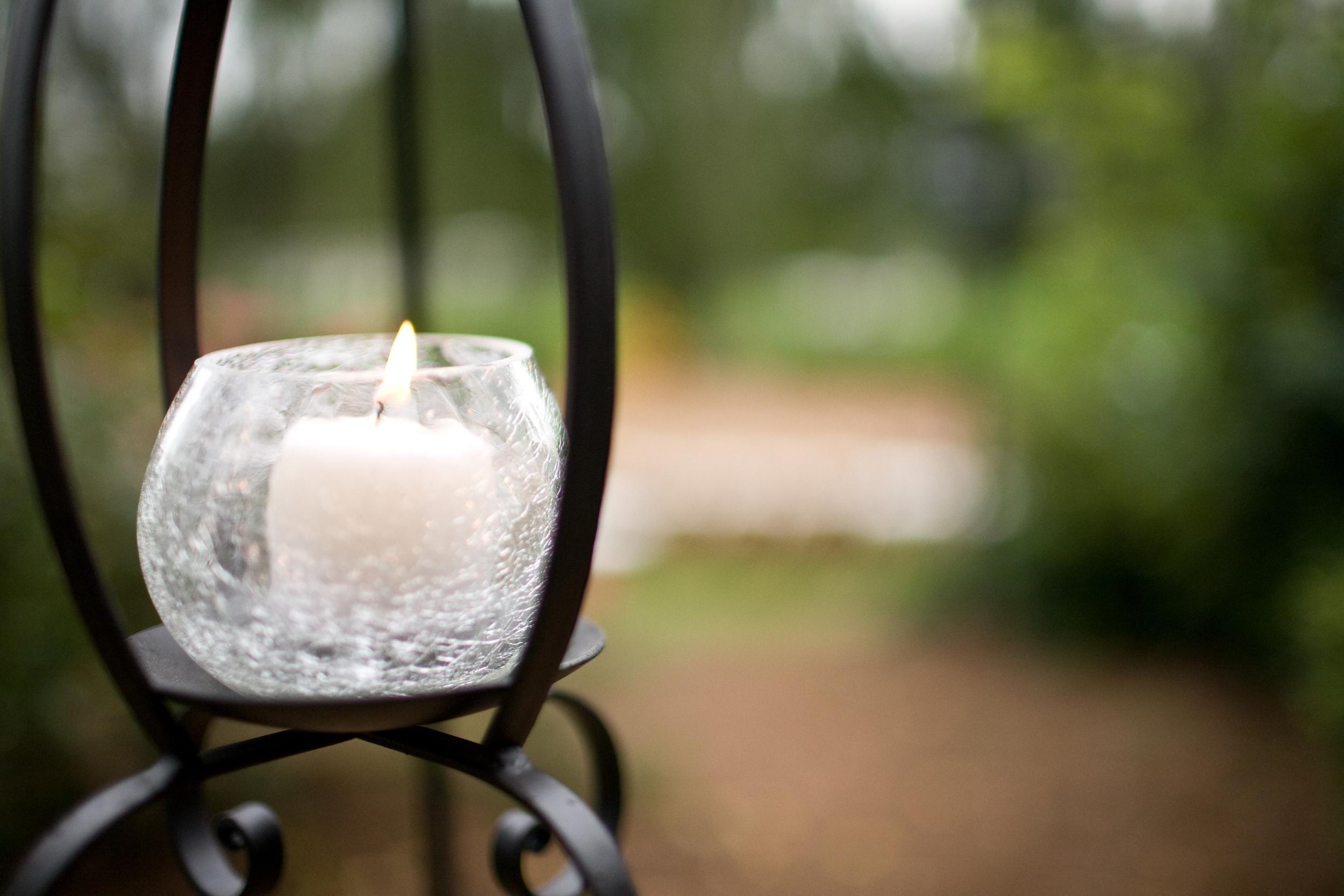 Open Lantern ,  Glass Votive