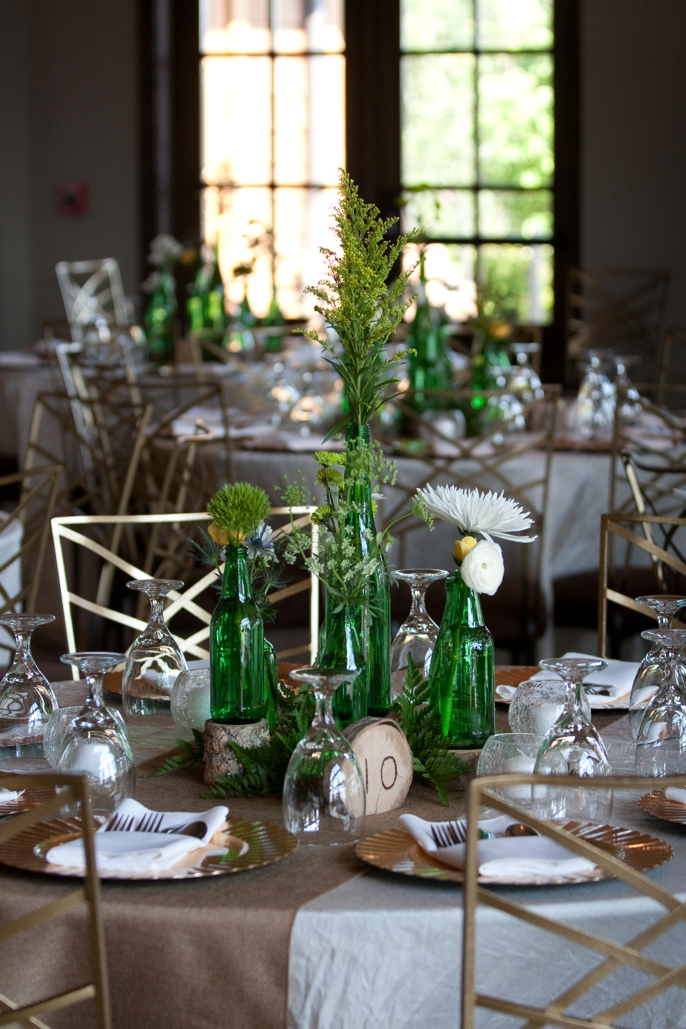 Bottles ,  Table Numbers ,  Glass Votive