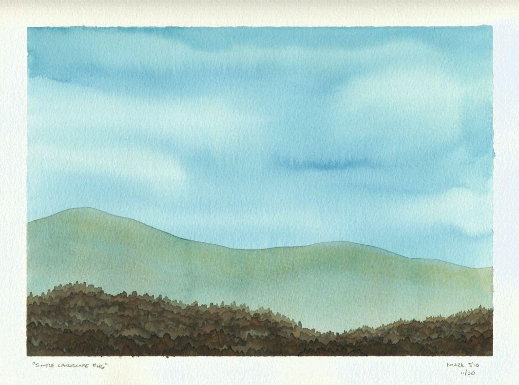Simple Landscape #46