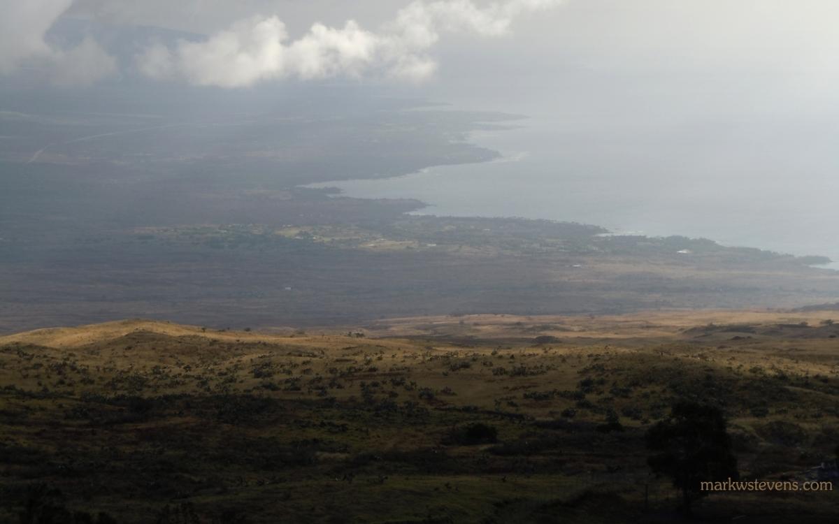 Overlooking Kona