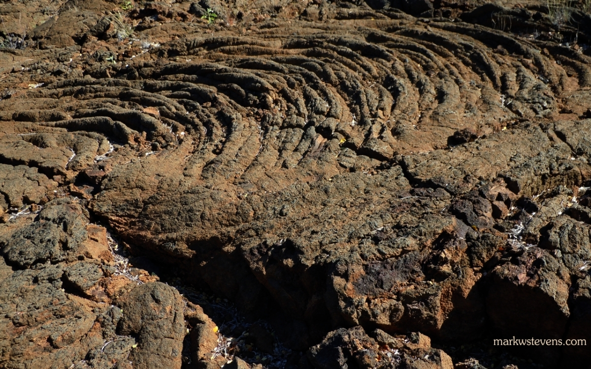 Very Old Lava Flow