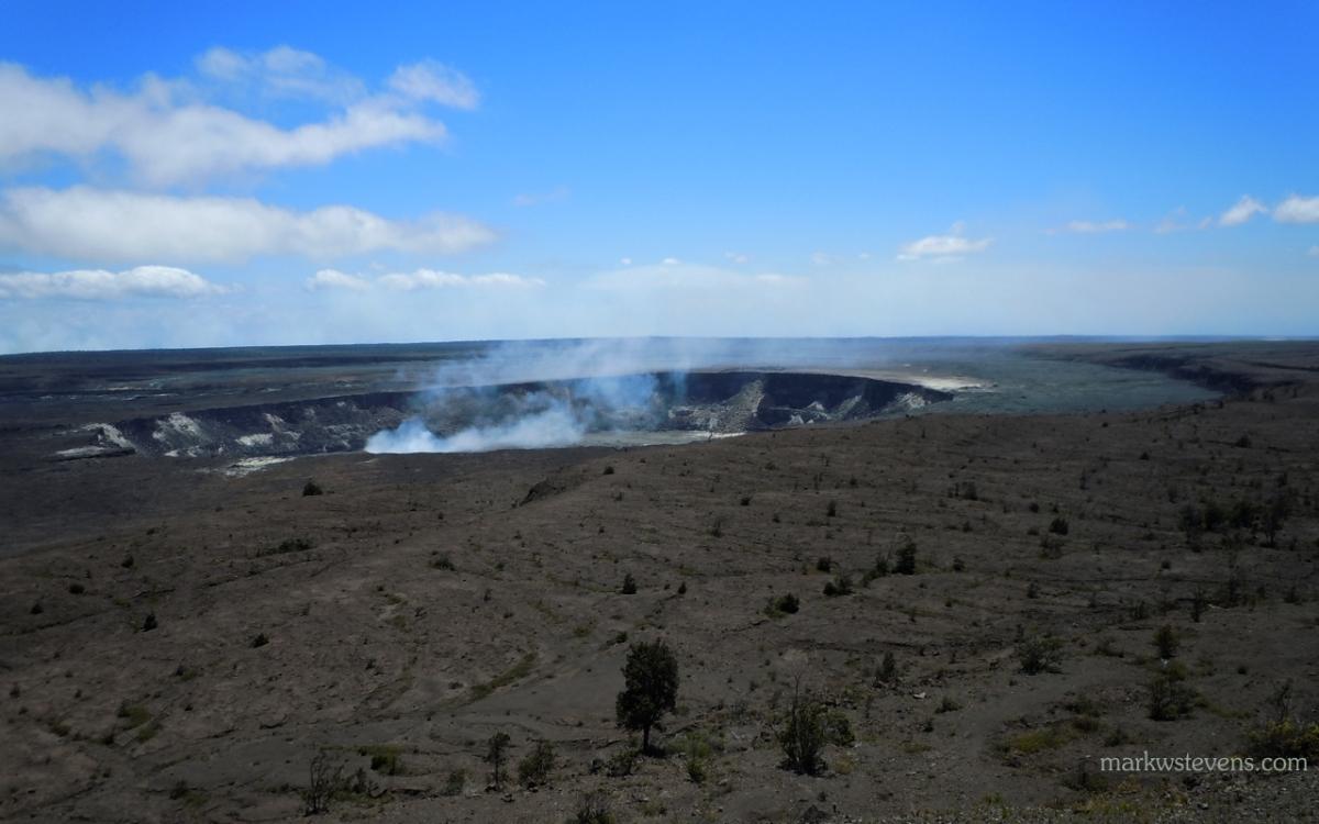 Caldera at Volcano National Park