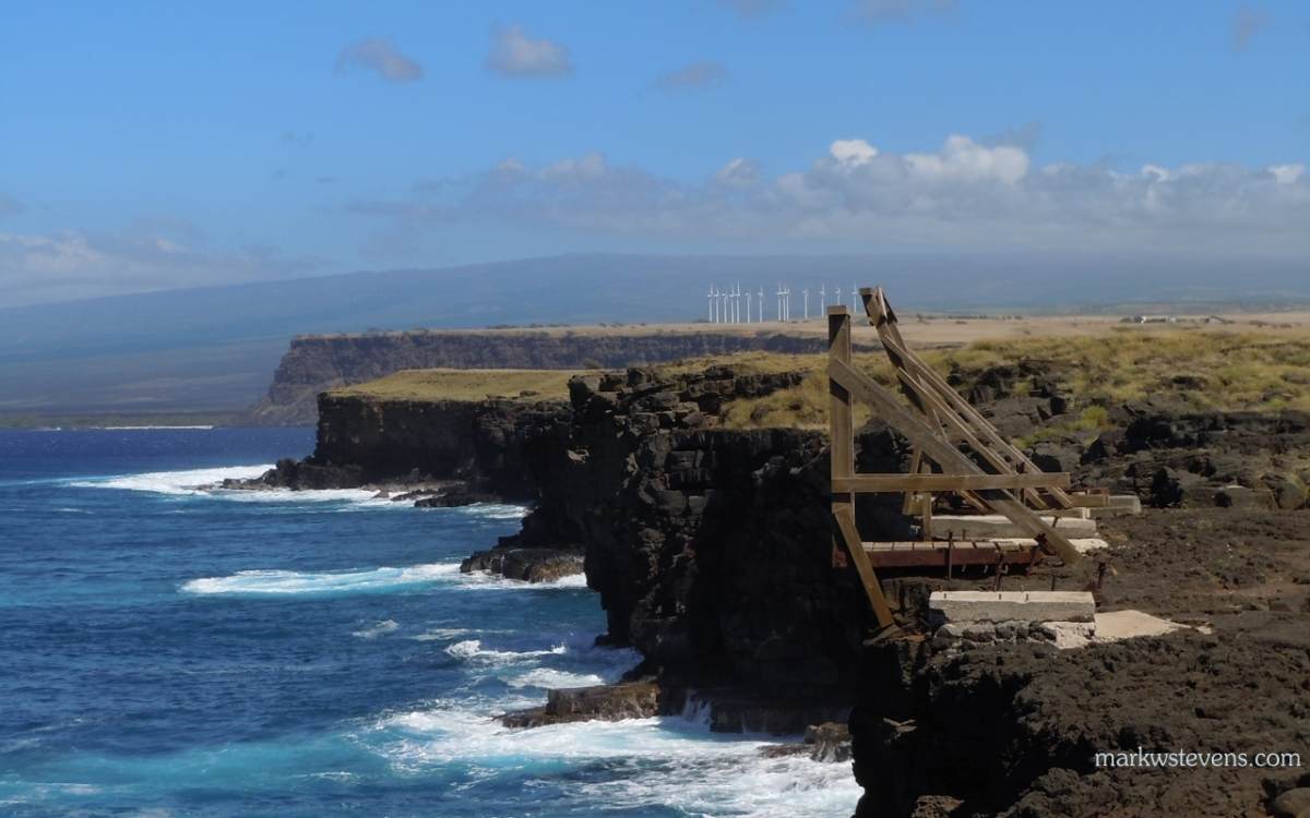 Looking North at the Southern Most Point of The United States