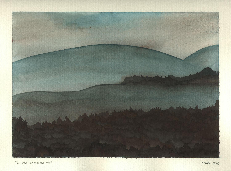 Simple Landscape #19