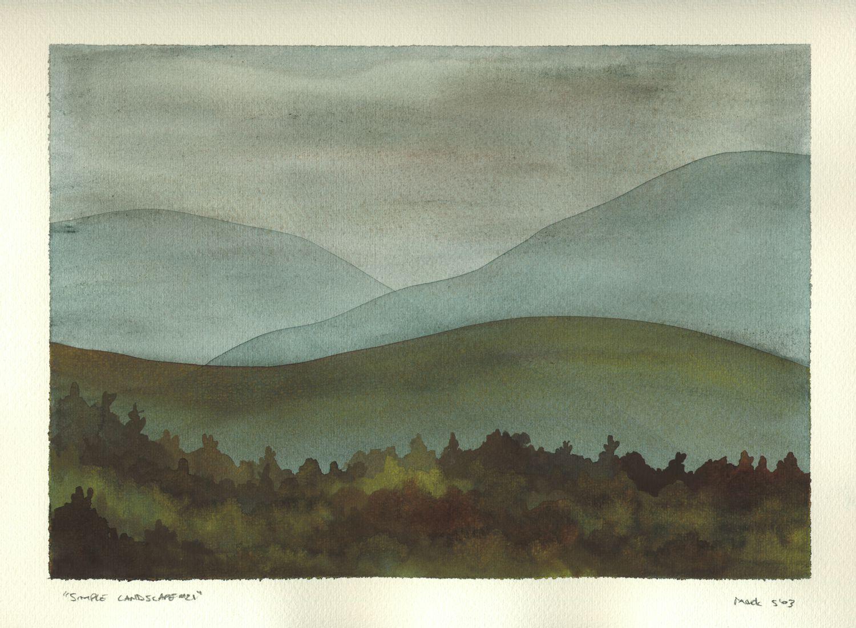 Simple Landscape #21