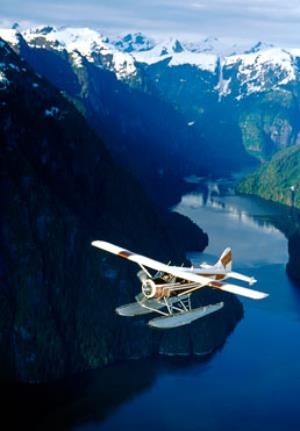 Flying the Misty Fjords National Monument