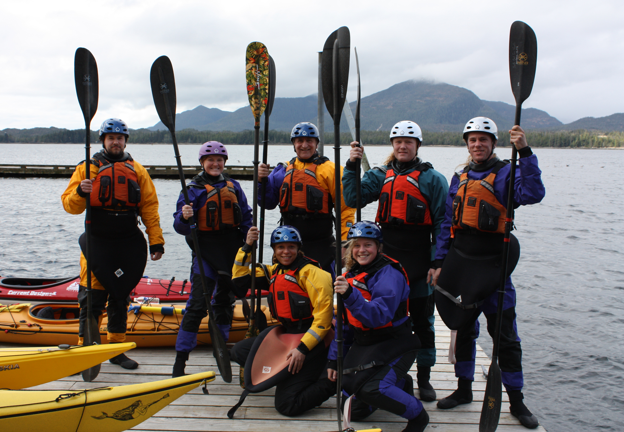 2010 Guides ready for dry-suit training