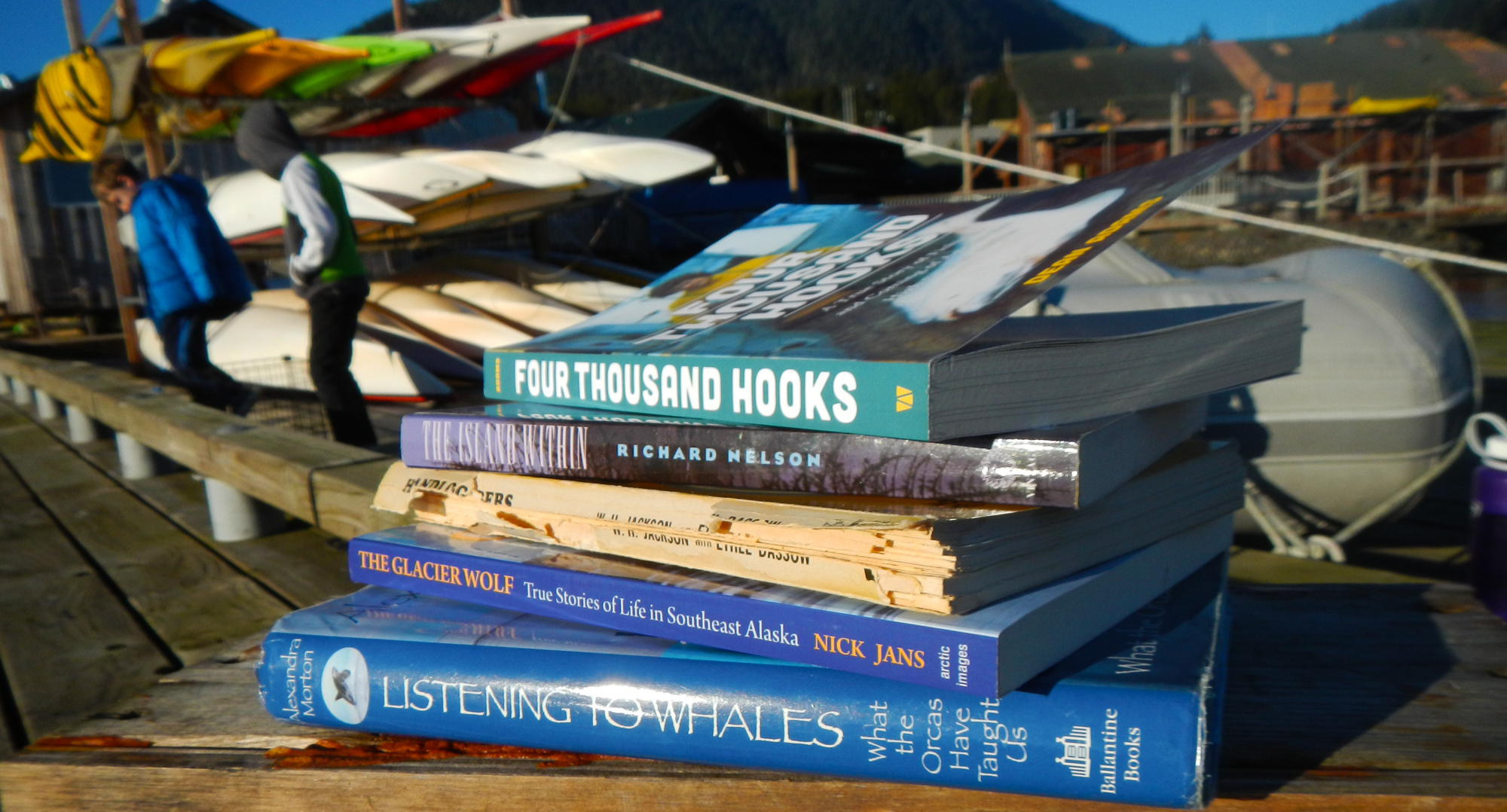 Some great reading for your Alaska Vacation.