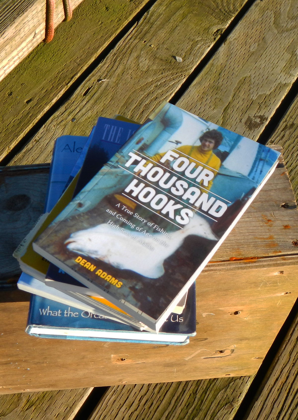 Great commercial fishing books. Dean Adams'  Four Thousand Hooks  and Spike Walker's  Working on the Edge.