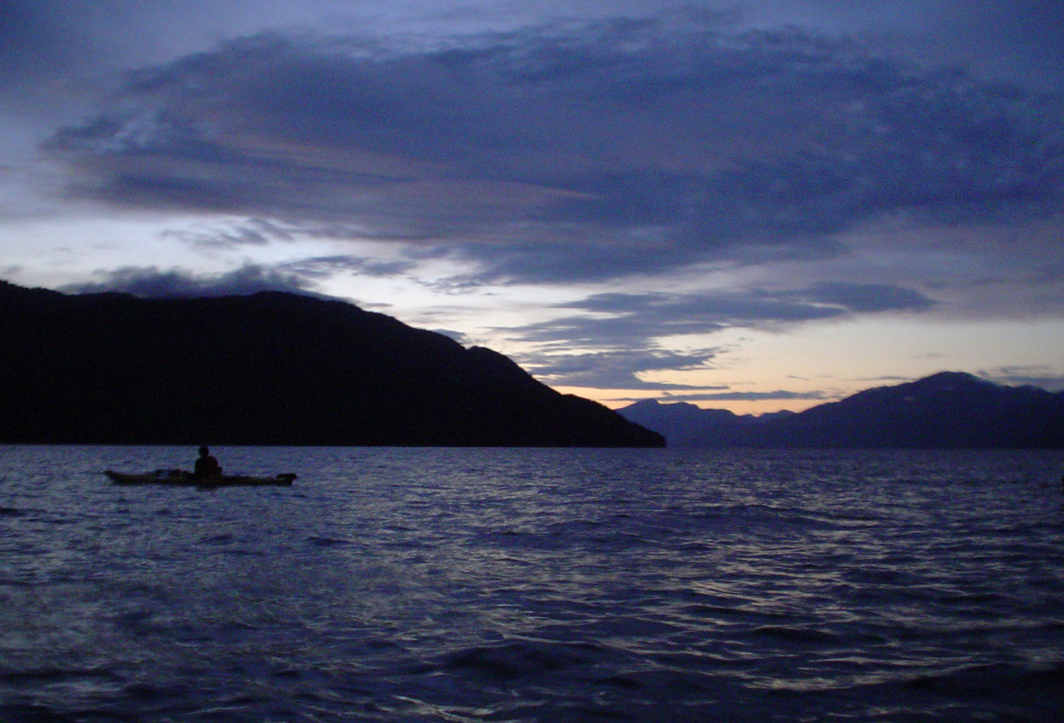 Evening Paddle from Manzanita