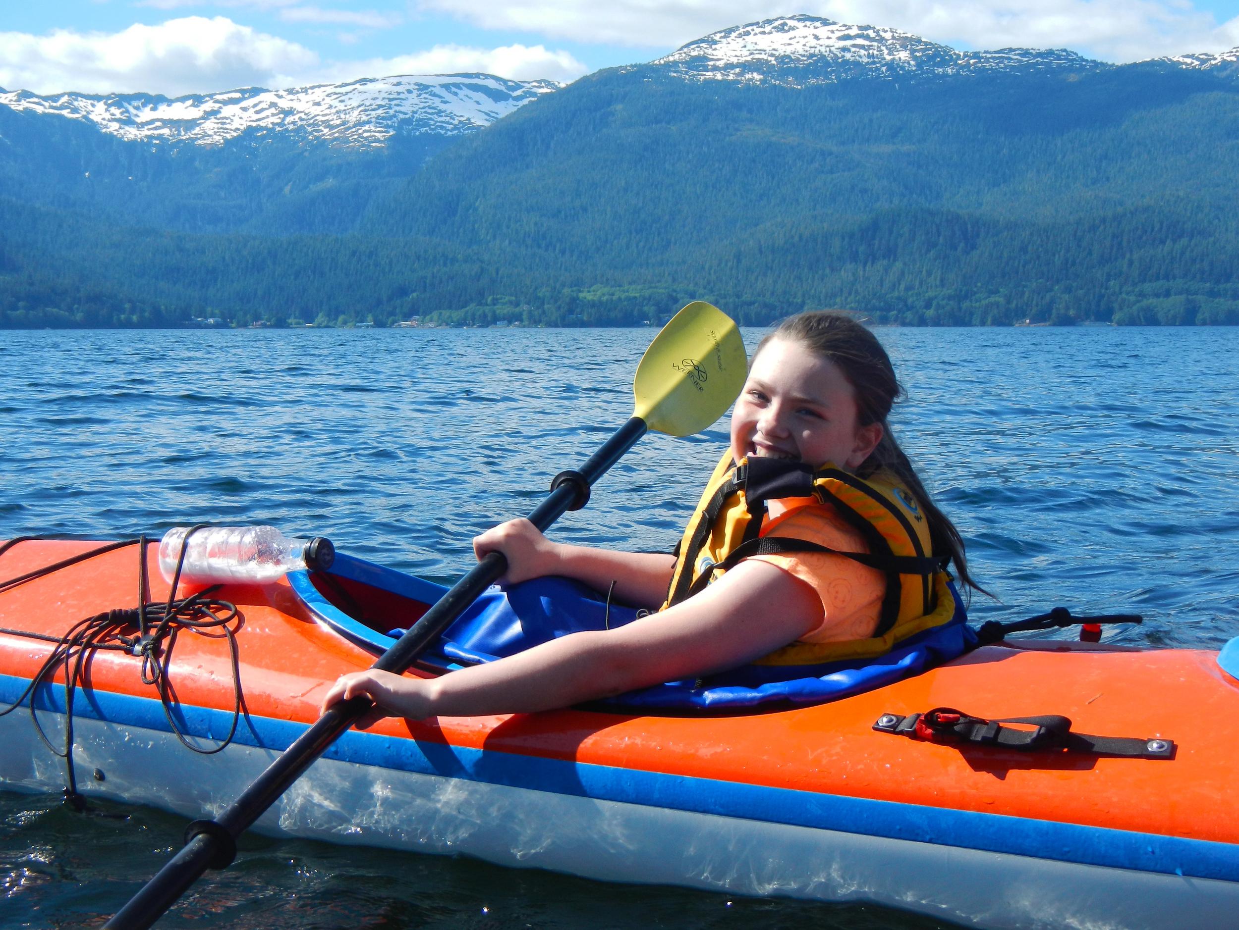 Kids love to kayak.