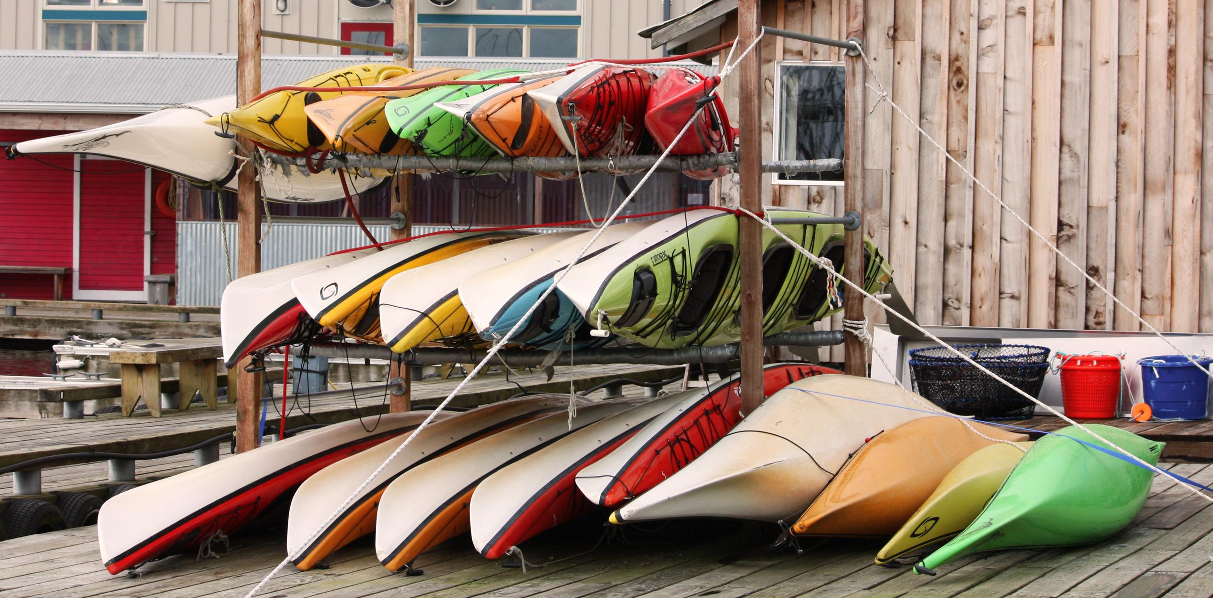 We love kayaks!
