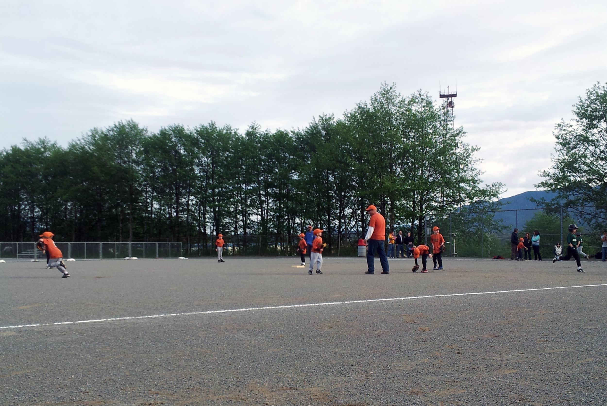 Ketchikan Little League and it's not even raining!