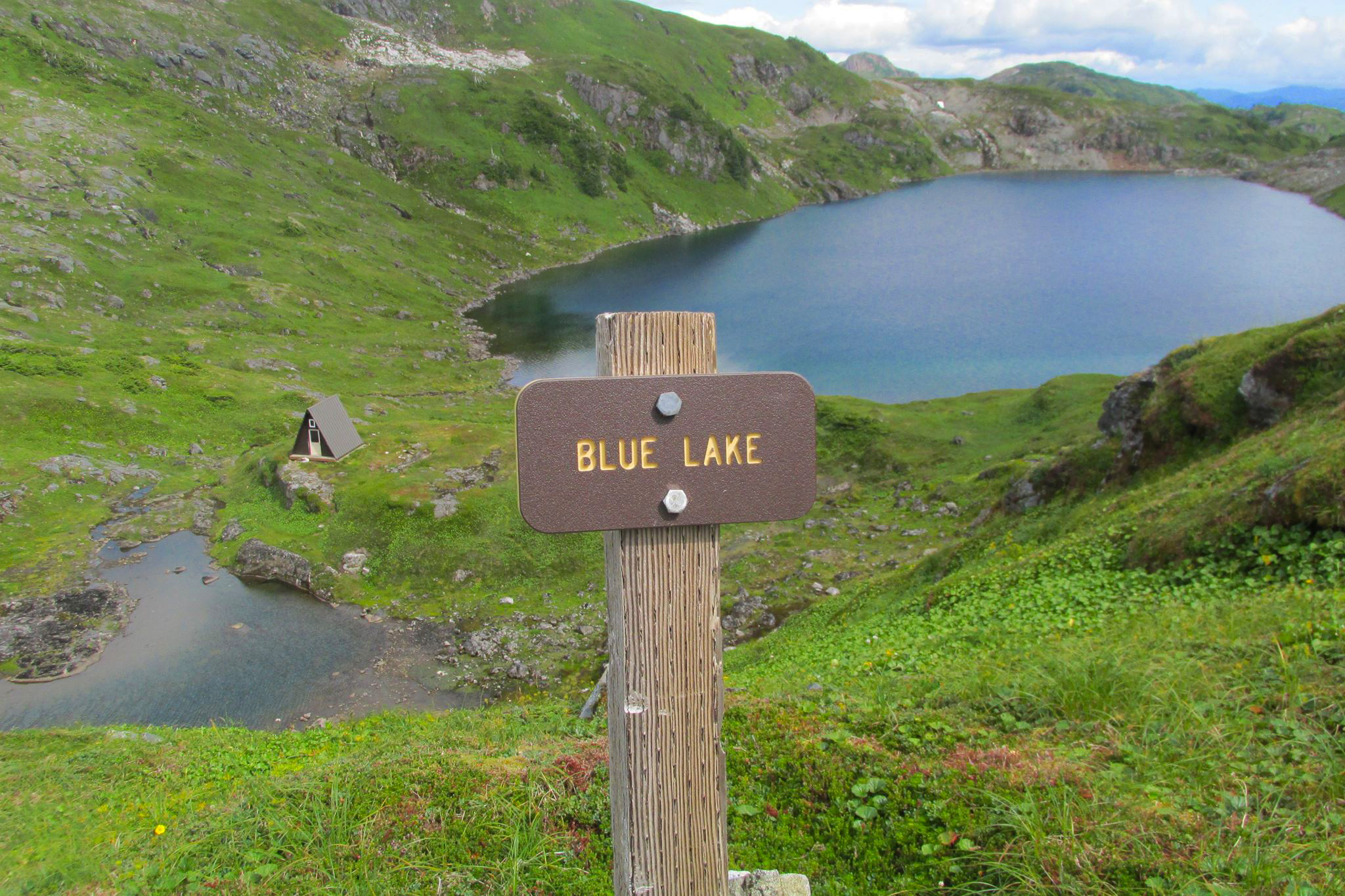 The hike up Deer Mountain and over to Blue Lake is one of Ketchikan's best.