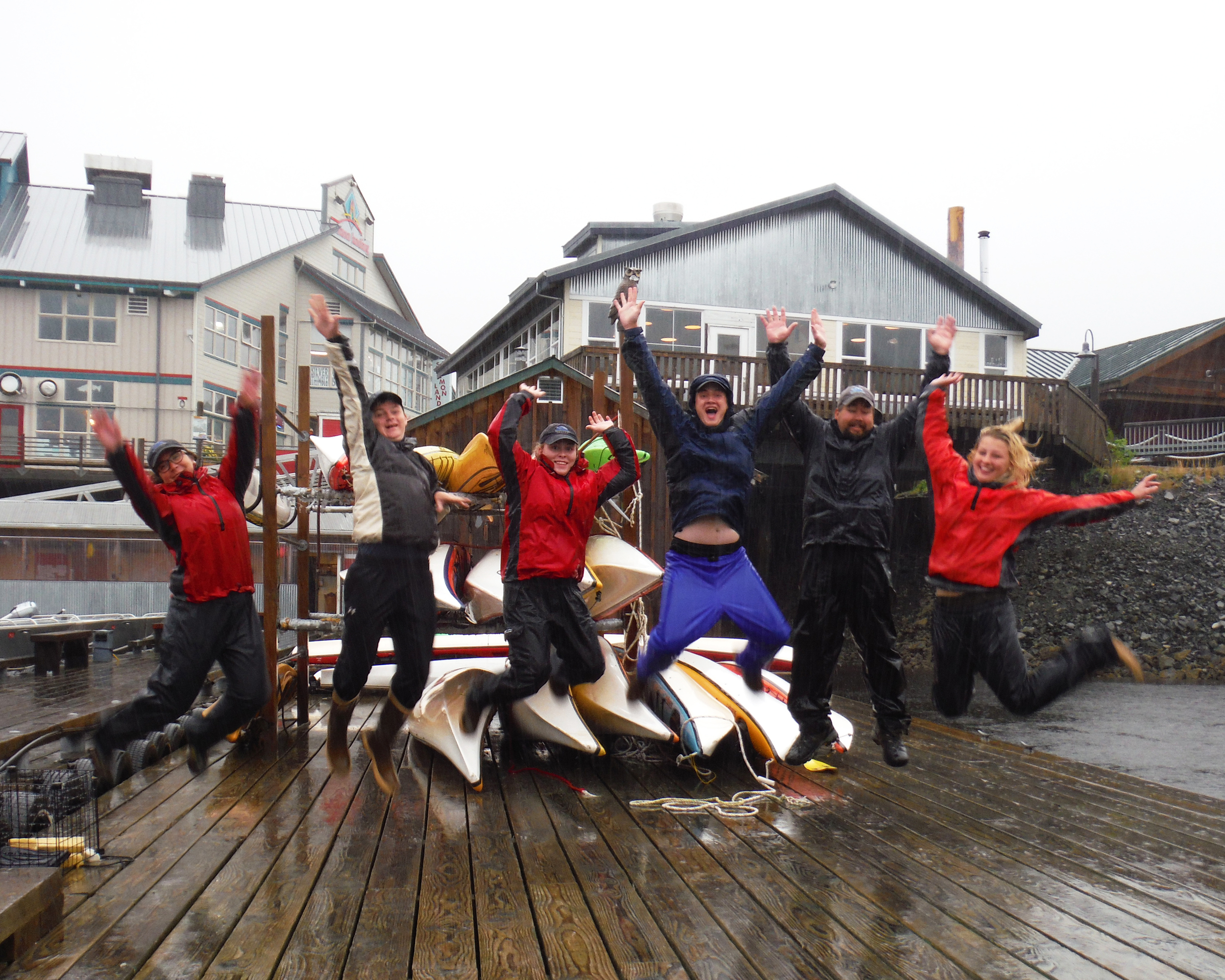 If you don't enjoy rain Ketchikan may not be the place for you.