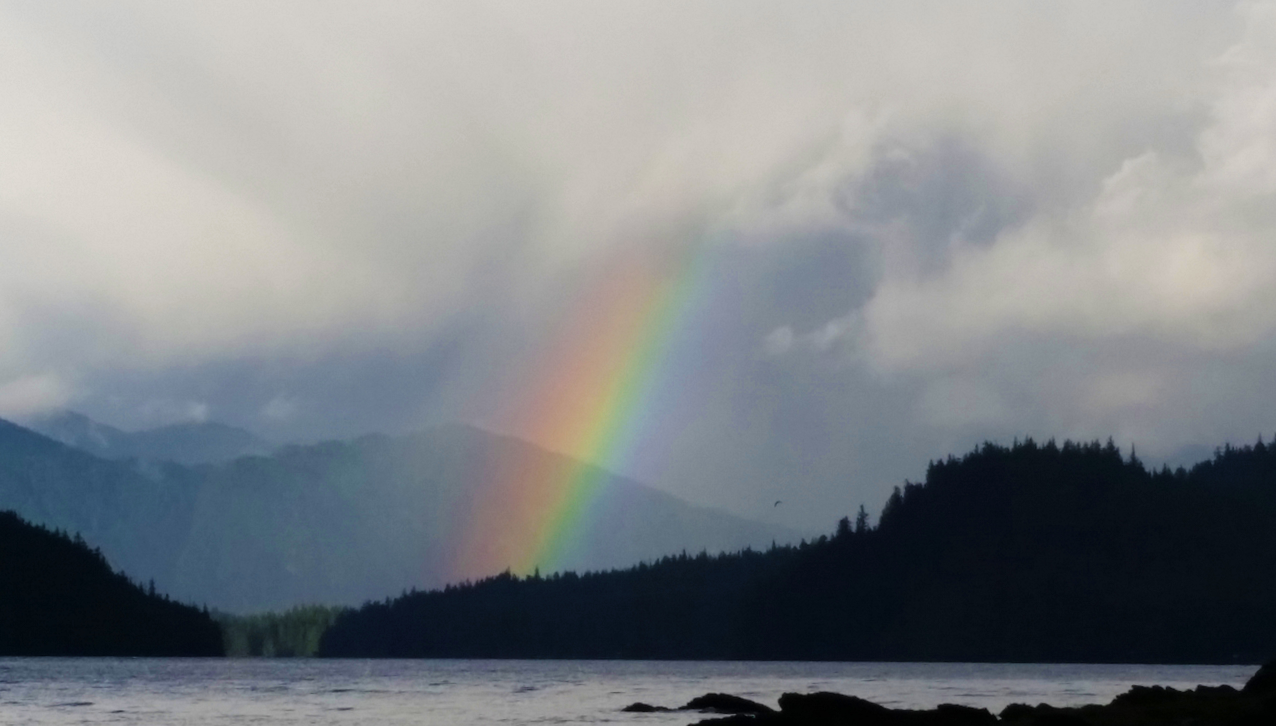 Rainbow at Settler's Cove, Ketchikan, Alaska