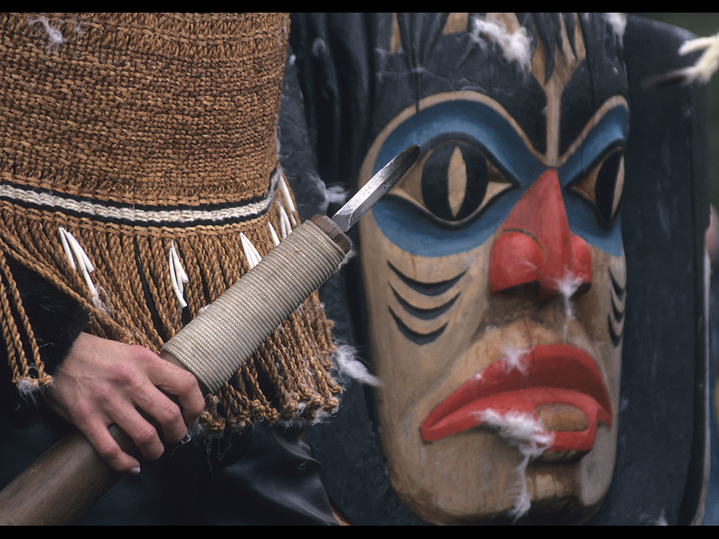 Native Culture is strong in Southeast Alaska. Ketchikan, Sitka and Icy Point Strait are good places to see Totem Poles or take a Native Culture tour.  Photo by Dan Kiely.