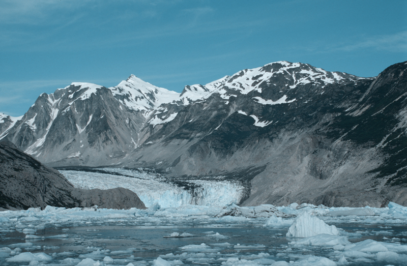 Alaska's glaciers should not be missed. Juneau is the best port for Glacier viewing tours. Photo by Dan Kiely.