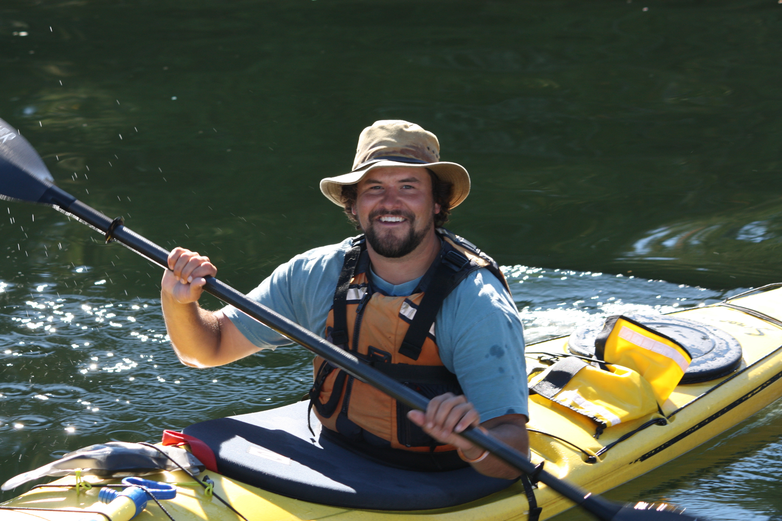 One of our all-time top rated guides, James White, is back this summer for his fifth year of paddling at Orcas Cove for Southeast Sea Kayaks.