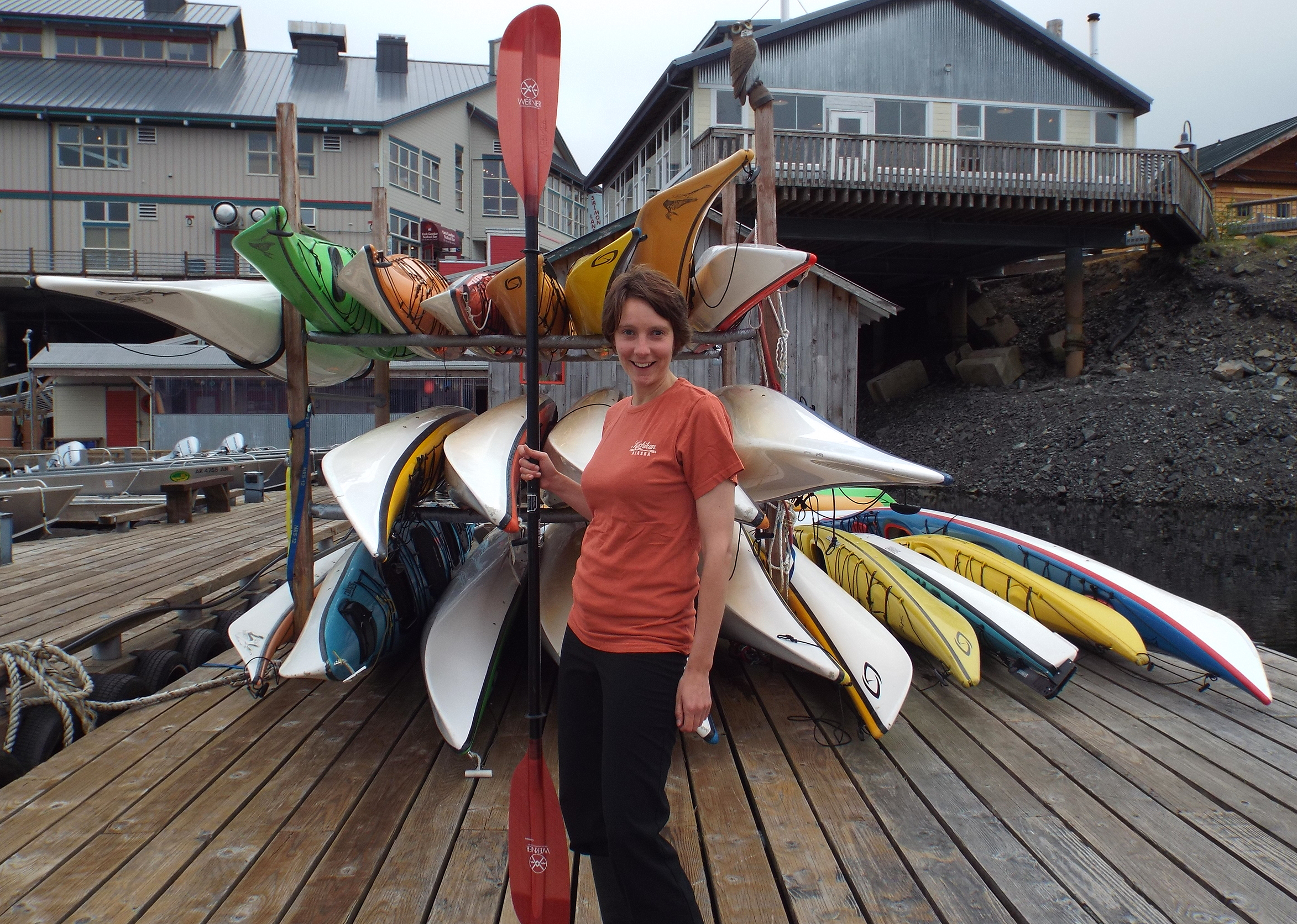 Office Manager, Nicole, loves to cook and paddle in her spare time.