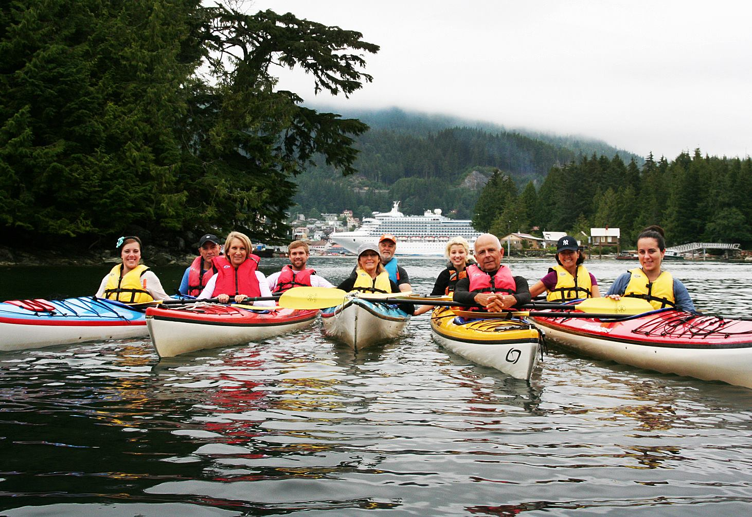 Bring the whole family kayaking in Ketchikan!