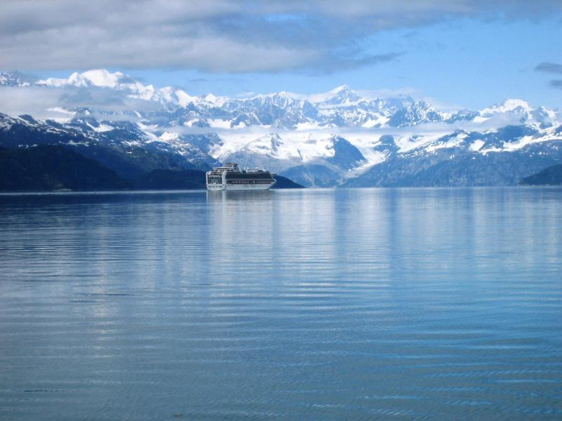 Alaska: always amazing. Photo from  NPS Glacier Bay .