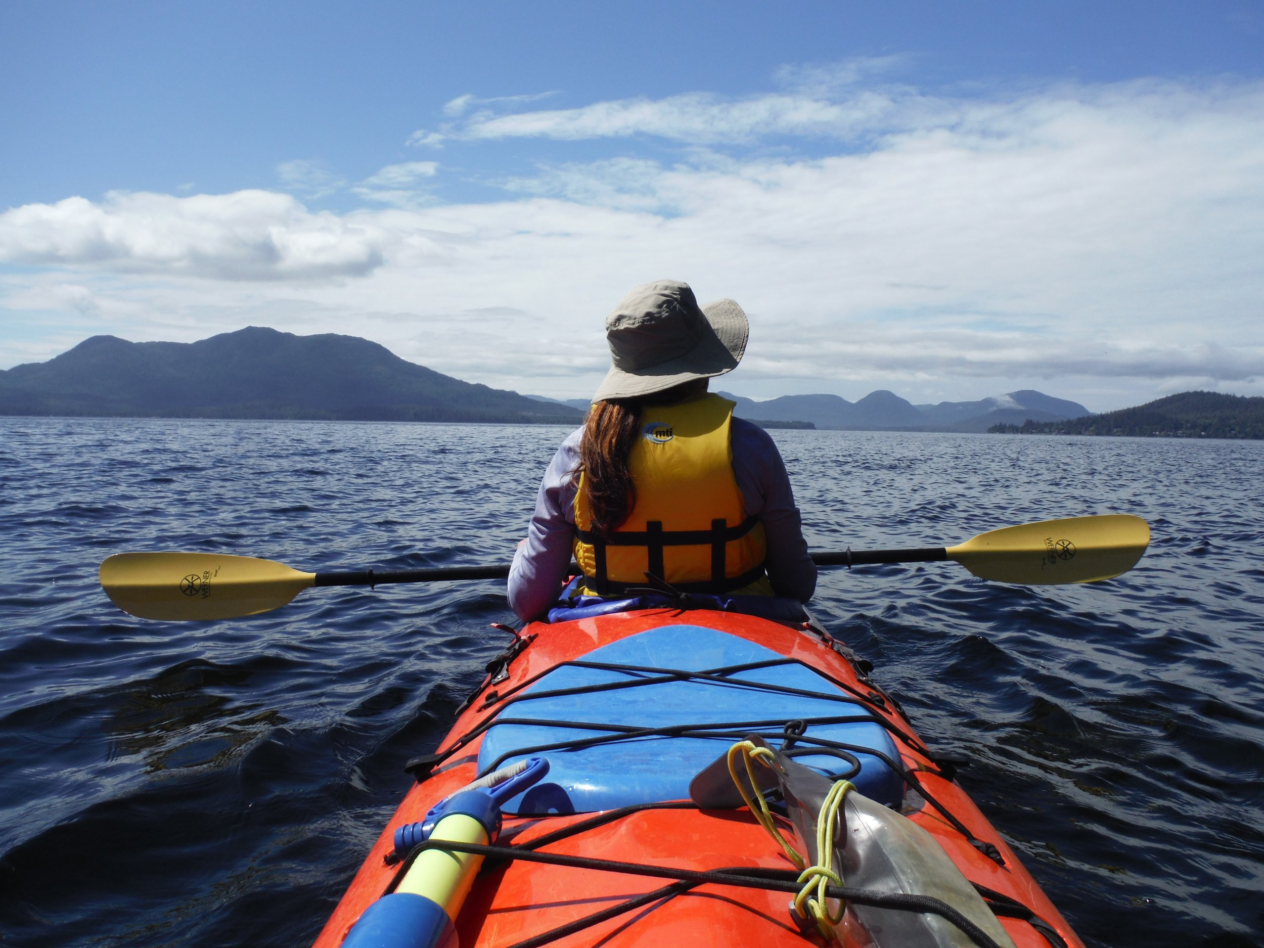 Sea kayaking is one of the best ways to explore Southeast Alaska's vast roadless wilderness.