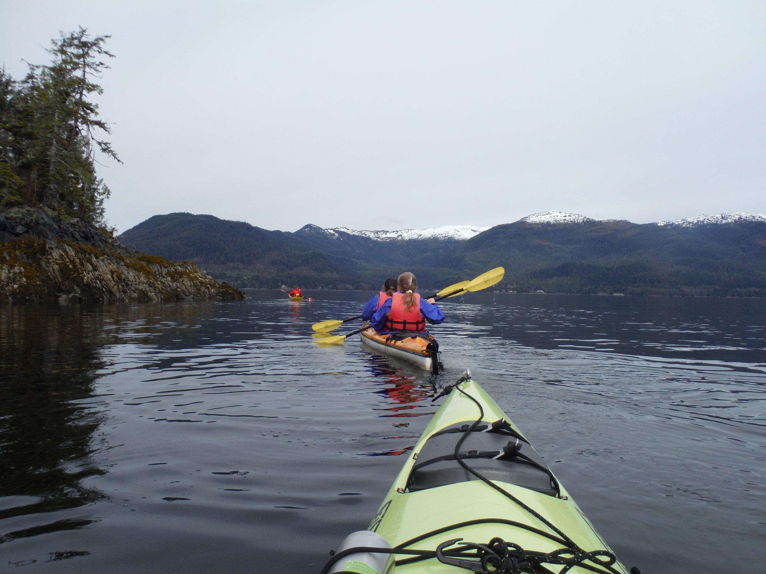 See Alaska by sea kayaking