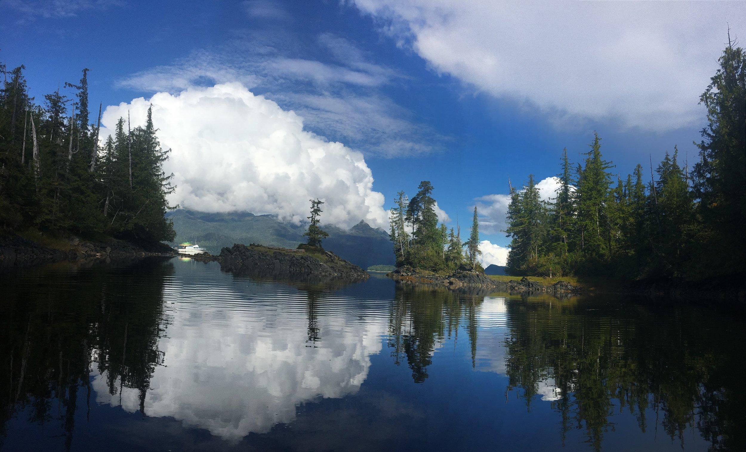 Take in the beauty of wild Alaska
