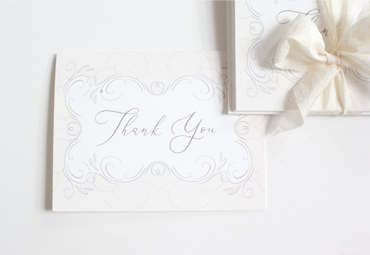 V. Paperie 'Thank You' Cards and Envelopes