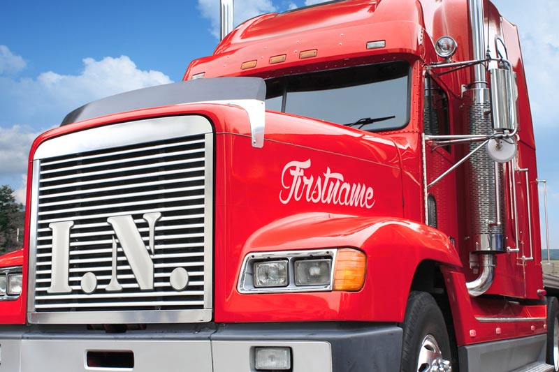 Sep - Semi Truck