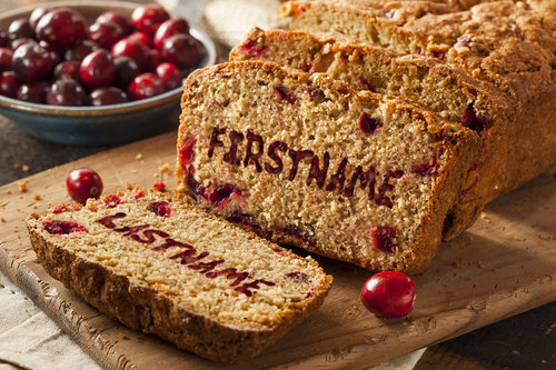 Nov - Cranberry Bread