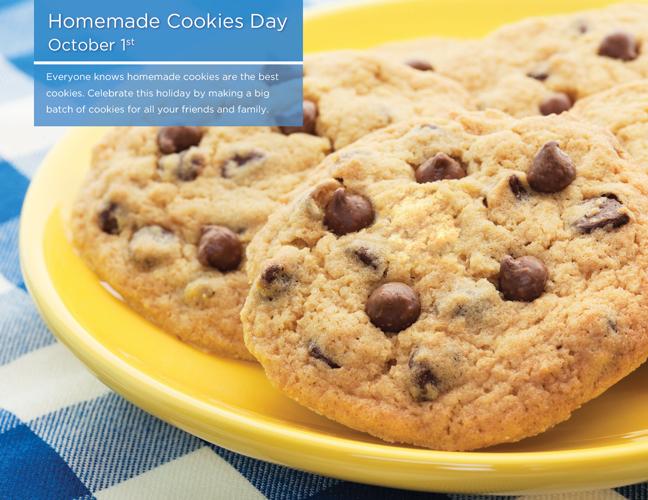 10 - Homemade Cookies Day