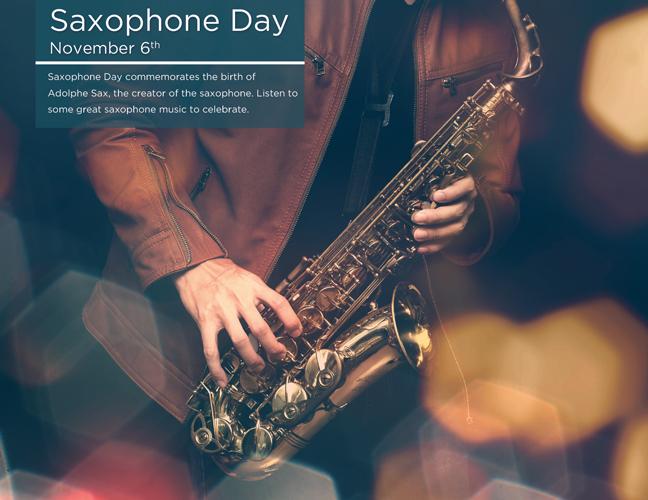 11 - Saxophone Day