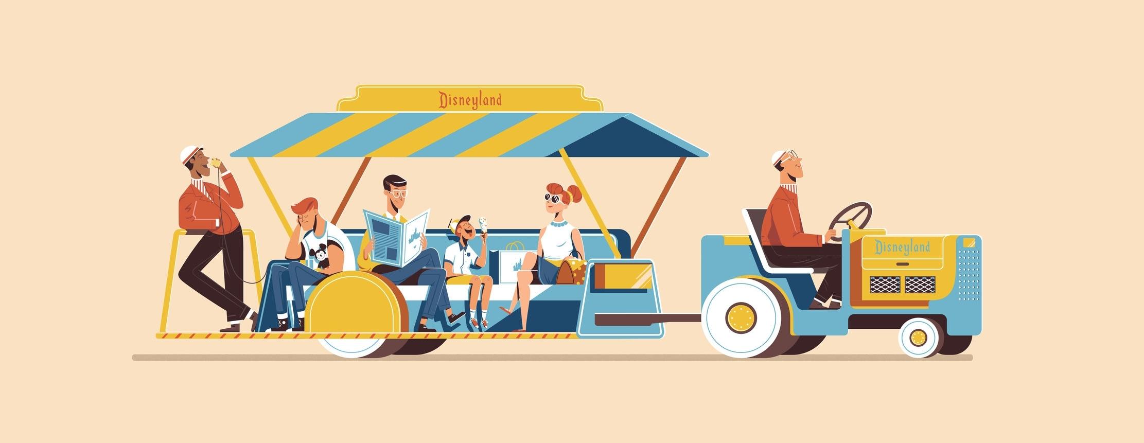 Expo '55 - Ride Vehicle Series