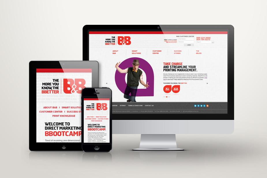 B&B Responsive UI Design