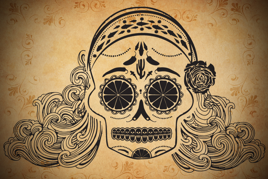 CDB Sugar Skull
