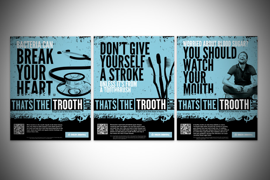 That's The Trooth Campaign B2C Print Ads