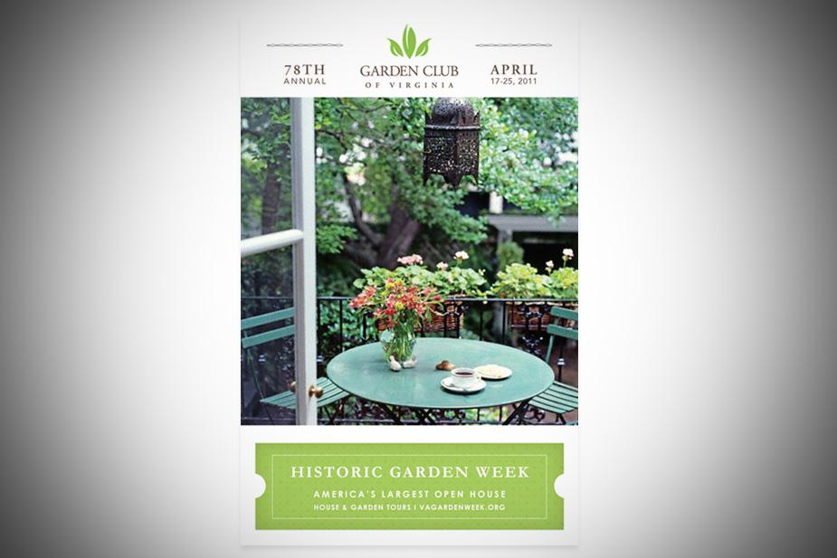 Garden Club of Virginia Poster