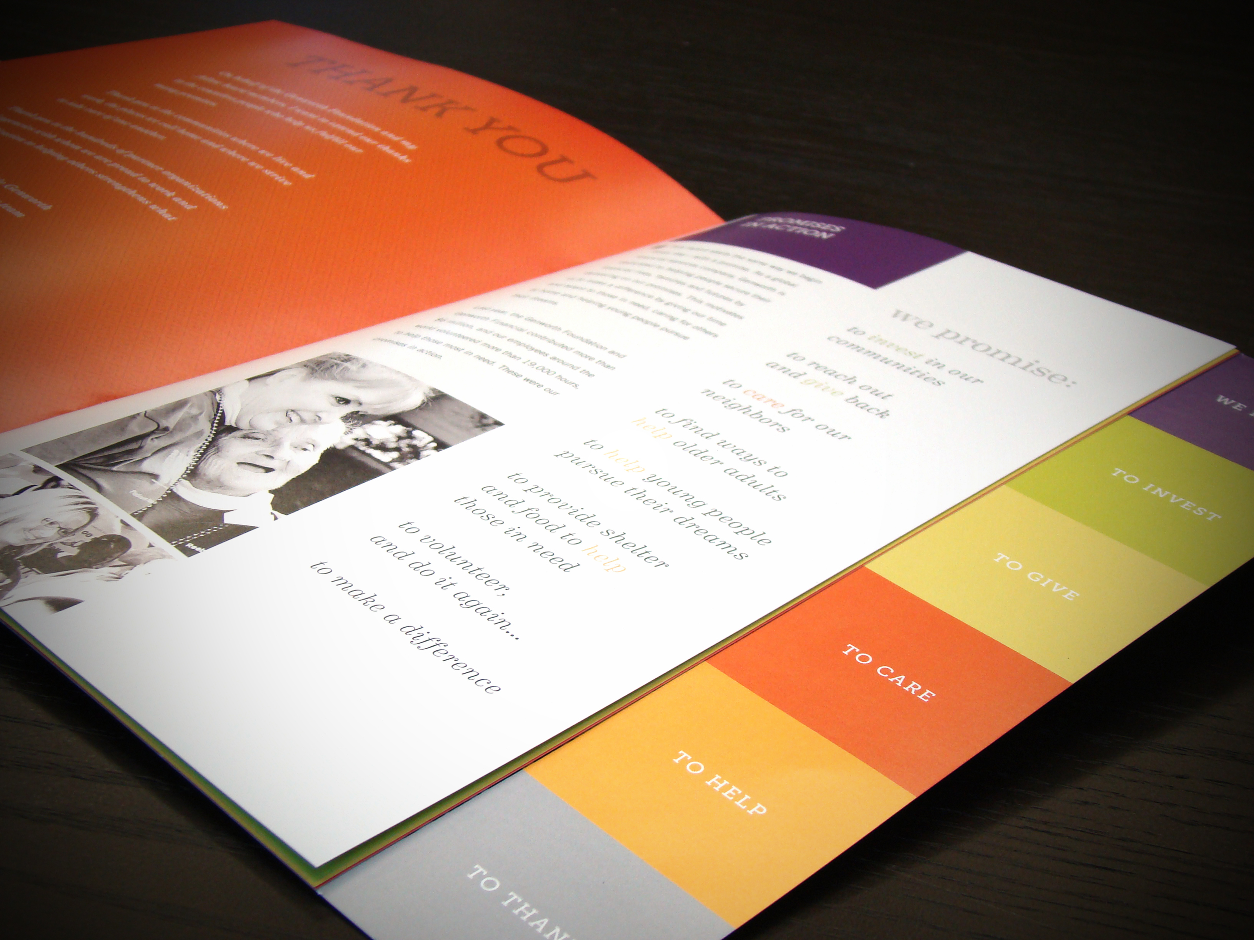 Genworth Foundation Annual Report Inside Front Cover