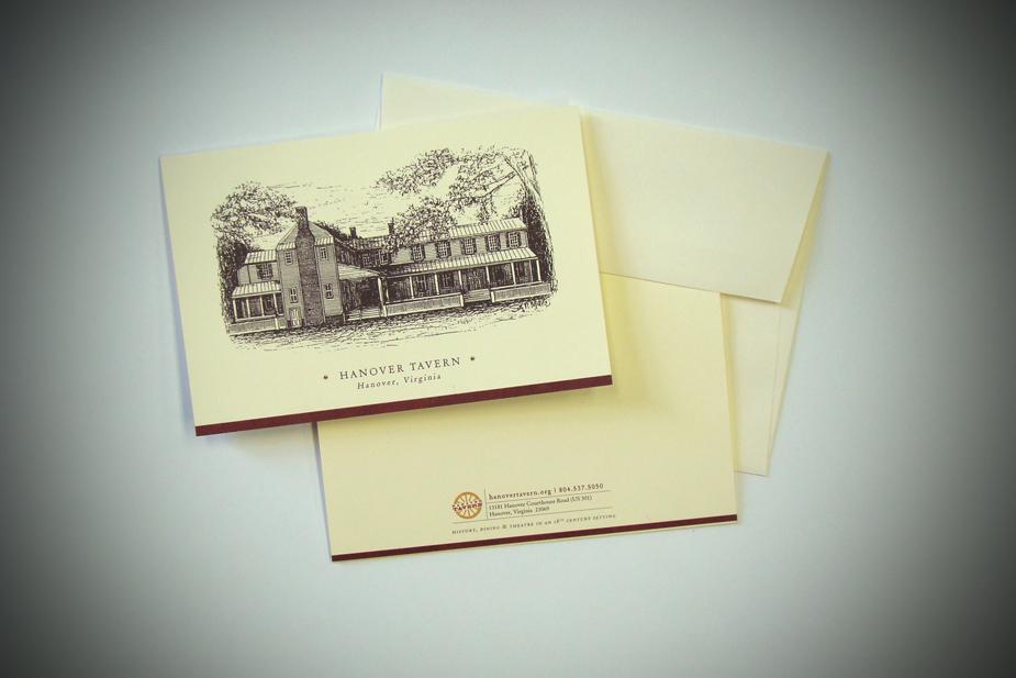 Hanover Tavern Greeting Card
