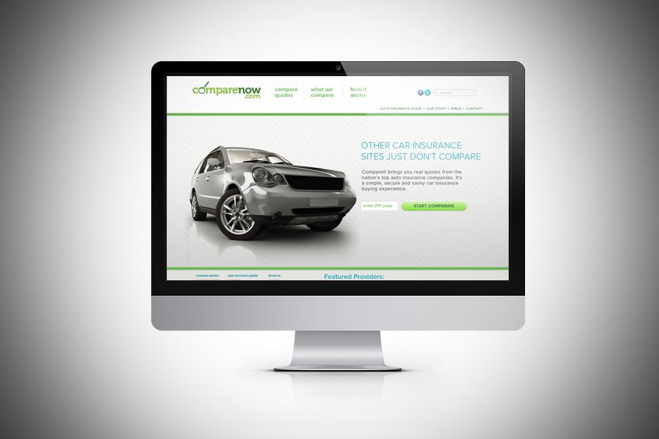 comparenow UI Design