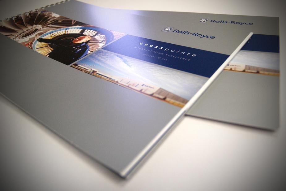 Rolls Royce Brochure Cover